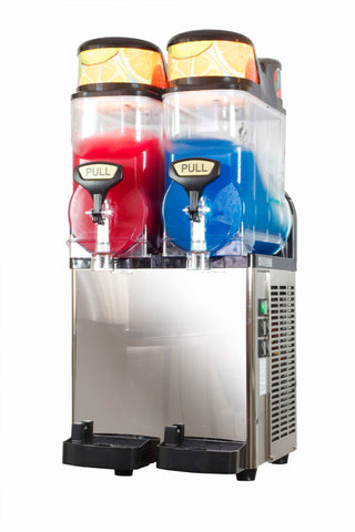 Blue Ice ST12X2 Double Slush Machine, Beverage Dispensers, Advantage Catering Equipment