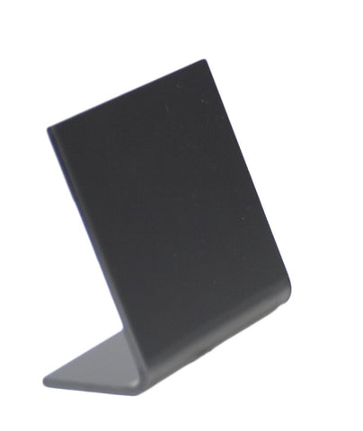 Genware TBA-BL-A8 A8 Acrylic Table Chalk Boards (5pcs)