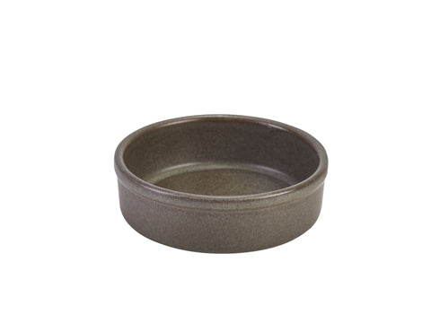 Genware TD-AN10 Terra Stoneware Antigo Tapas Dish 10cm, Tableware, Advantage Catering Equipment