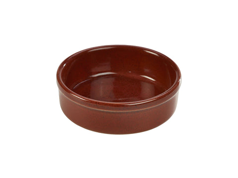 Genware TD-R14 Terra Stoneware Rustic Red Tapas Dish 14.5cm, Tableware, Advantage Catering Equipment