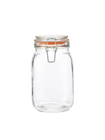 Genware TJ-15  Glass Terrine Jar 1.5L