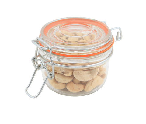 Genware TJ-M  Glass Terrine Jar 125ml 8.1 x 6.5cm