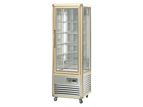 Tecfrigo Continental 350Q Single Door Glass Display, Cold Displays, Advantage Catering Equipment