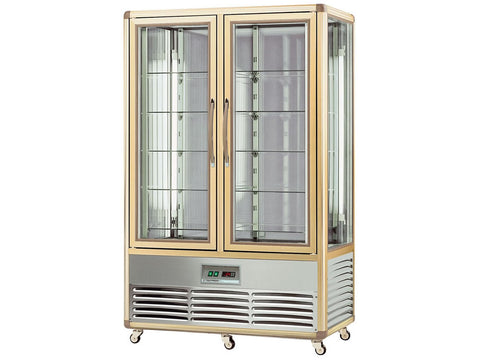 Tecfrigo Continental 700G Double Door Glass Display, Cold Displays, Advantage Catering Equipment