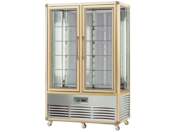 Tecfrigo Continental 700g Double Door Glass Display