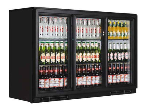 Tefcold BA30S Back Bar Bottle Cooler, Bottle Fridges, Advantage Catering Equipment