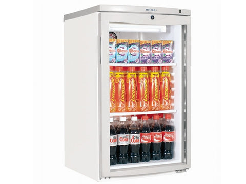 Tefcold BC145 Glass Door Merchandiser, Bottle Fridges, Advantage Catering Equipment