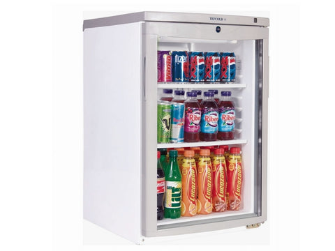 Tefcold BC85 Glass Door Merchandiser, Chilled Display, Advantage Catering Equipment