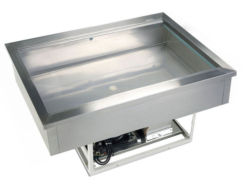 Tefcold CW2 Drop In Chilled Buffet Display Unit, Cold Displays, Advantage Catering Equipment