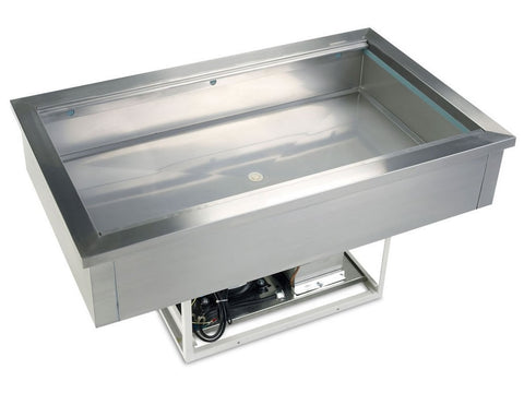 Tefcold CW3 Drop In Chilled Buffet Display Unit, Cold Displays, Advantage Catering Equipment