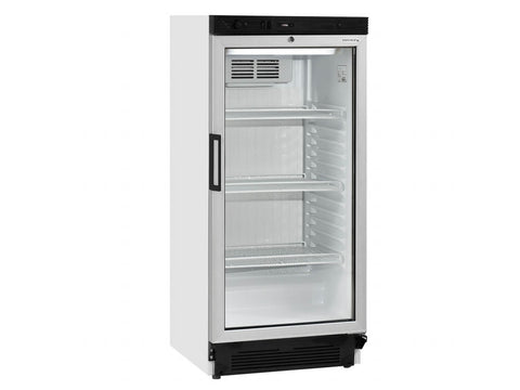 Tefcold FS1220 Glass Door Merchandiser, Bottle Fridges, Advantage Catering Equipment
