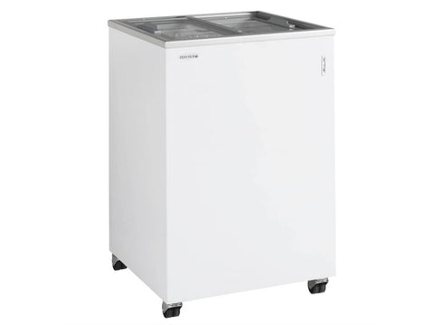 Tefcold SC Range Sliding Flat Glass Lid Chest Freezer, Frozen Display, Advantage Catering Equipment