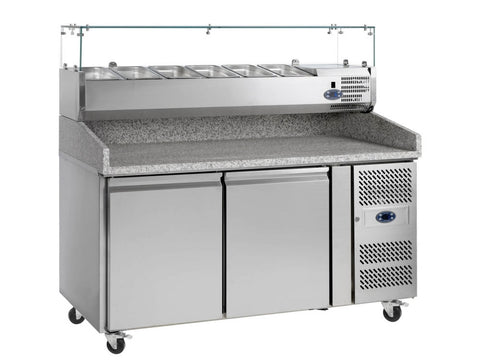 Tefcold PT1200 Gastronorm Preparation Counter, Refrigerators, Advantage Catering Equipment