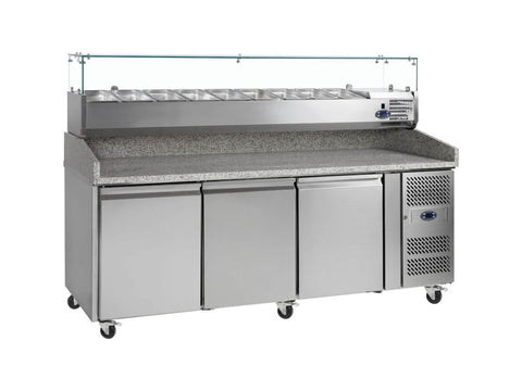 Tefcold PT1300 Gastronorm Preparation Counter