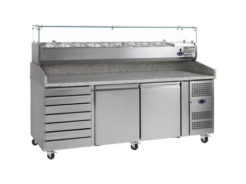 Tefcold PT1310 Gastronorm Preparation Counter