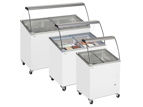 Tefcold SCE Range Scoop Ice Cream Display with Canopy
