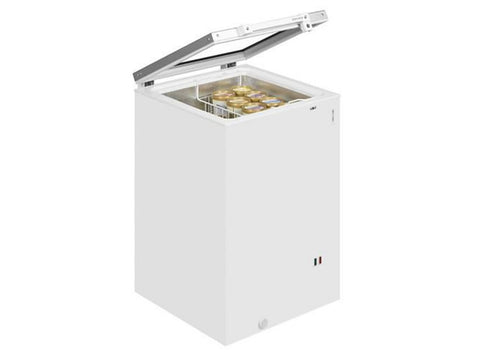 Tefcold ST160 Hinged Glass Lid Chest Freezer