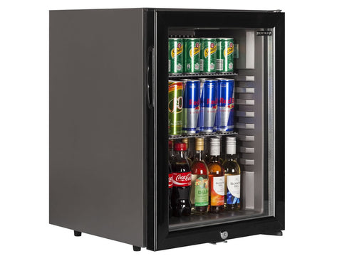 Tefcold TM42G Glass Door Minibar, Refrigerators, Advantage Catering Equipment