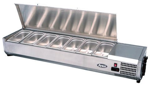 Atosa VRX1400/330 Toppings Shelf, Refrigerators, Advantage Catering Equipment
