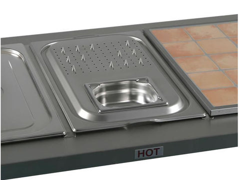 Victor BMCV1 Carvery Insert with Gravy Dish, Machine Accessories, Advantage Catering Equipment