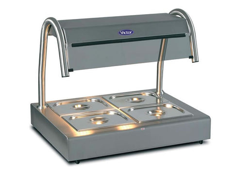 Victor CTB2 Bain Marie Topper, Hot Servery, Advantage Catering Equipment