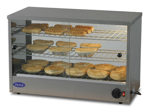 Victor CU Counter Pie Heater, Heated Displays, Advantage Catering Equipment