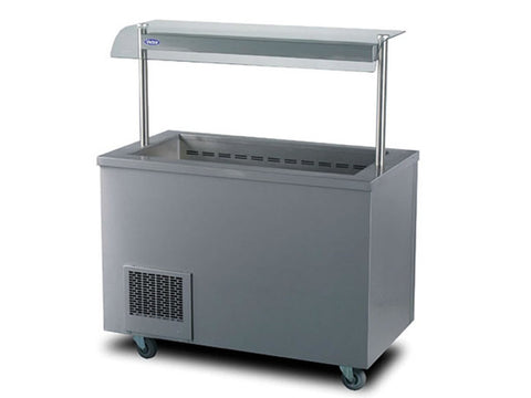 Victor RW30MSG Refrigerated Salad Well, Hot Holding, Advantage Catering Equipment