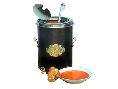 Victorian Ovens BLA402 Black Sandringham Soup Kettle, Soup Kettles, Advantage Catering Equipment