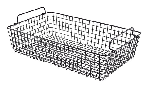 Genware WBGN11BK Black Wire Display Basket GN1/1