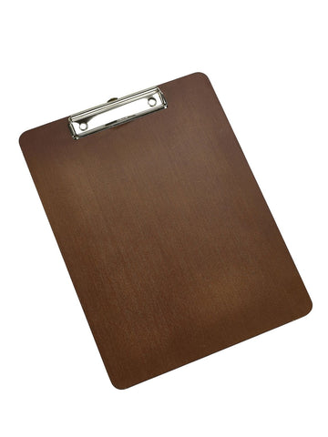 Genware WMC24 Wooden Menu Clipboard A4 24X32X0.6cm, Menu,Signs & Display, Advantage Catering Equipment