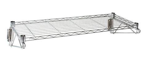 Genware WS-3614 Wall Mounted Wire Shelf 36(L) X 14(D), Racking & Trolleys, Advantage Catering Equipment