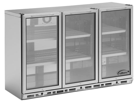 Williams BC3S3 Triple Door Bottle Cooler, Bottle Fridges, Advantage Catering Equipment