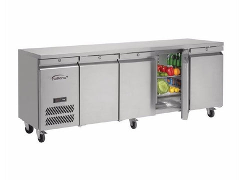Williams Four Door Refrigerated Counter HJC4