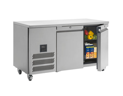 Williams Two Door Refrigerated Counter HJC2, Refrigerators, Advantage Catering Equipment