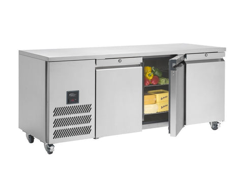 Williams Three Door Refrigerated Counter HJC3, Refrigerators, Advantage Catering Equipment