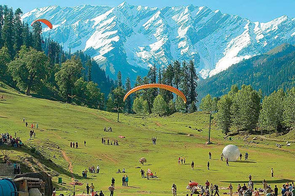 Kullu-Manali Honeymoon Special (Leisurely 4N/5D) (Delhi to Delhi): Stay in 3 Star Hotel, Sightseeing by Pvt. Car & More!