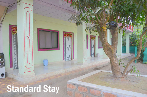 Diveagar Beach : Stay in AC Standard Room, Parasailing, Welcome drink, Breakfast & MORE!