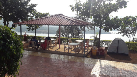 Lakeside camping at Tapola (Mahabaleshwar)