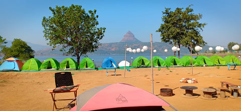 Pawna: Lakeside camping with magnificent view of Tung fort & Pawna lake