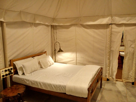 Kolad: River rafting and Stay in luxury tents (AC)