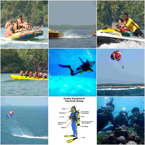 Tarkarli: Scuba Diving & Water Sports at Tarkarli (Malvan)