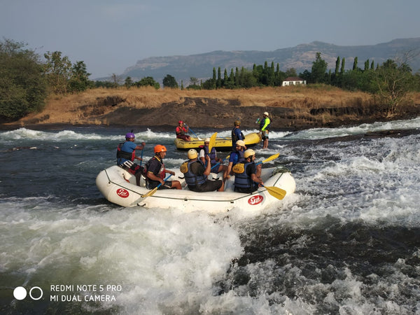 River rafting in Karjat (Most adventurous river rafting in Maharashtra)