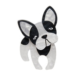 Fabian the French Bulldog brooch
