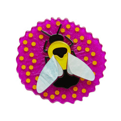 Bumblebee Burrower brooch