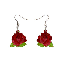 Budding Romance Rose earrings
