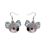 The Kuddly Koala earrings