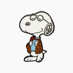 Professor Snoopy Enamel Pin