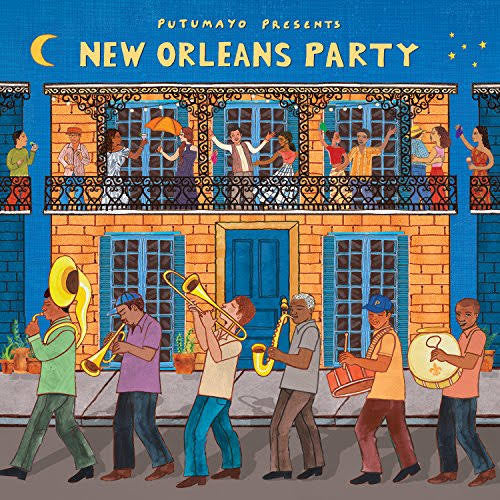 Putumayo presents 'New Orleans Party' CD