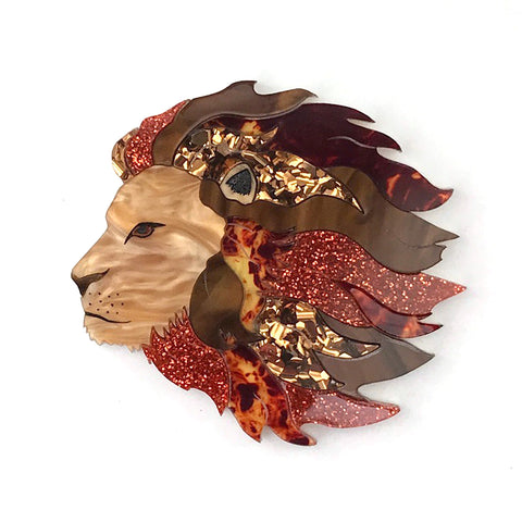 Cecil the Lion brooch