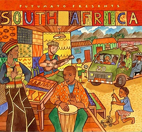 Putumayo World Music. South Africa CD